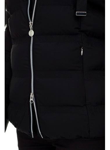 Emporio Armani  Regular Fit Kapüşonlu Mont Kadın Mont S 6Gtb16 Tnb7Z 1200 Siyah